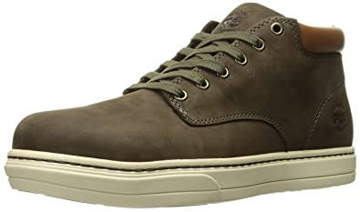Timberland Pro Men's Disruptor Chukka Alloy Safety Toe EH Industrial and  Construction Shoe, Donkey Nubuck