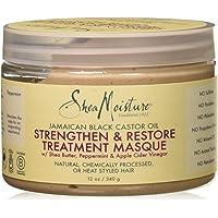 Shea Moisture Jamaican Black Castor Oil Strengthen-Grow and Restore Treatment Masque for Unisex