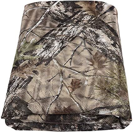 Amazon Com Tongcamo Hunting Blind Material Camo Netting For Outdoor Photography Camping Concealment Disguise Sunshade Covers Sports Outdoors
