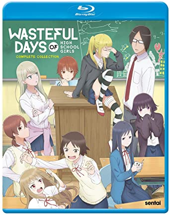 Poster. Wasteful Days of High School Girls: Complete Collection