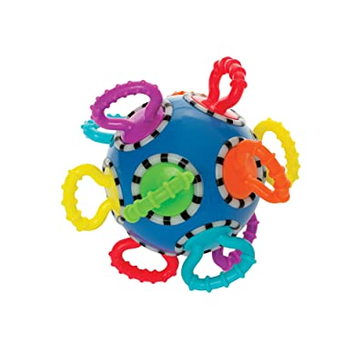 Manhattan Toy Click Clack Ball Developmental Activity Baby Toy: Toys & Games