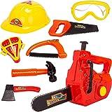 8 piezas niños divertidos corte herramientas juguete juego niños fingir PLAYSET juego de rol kit de juguete