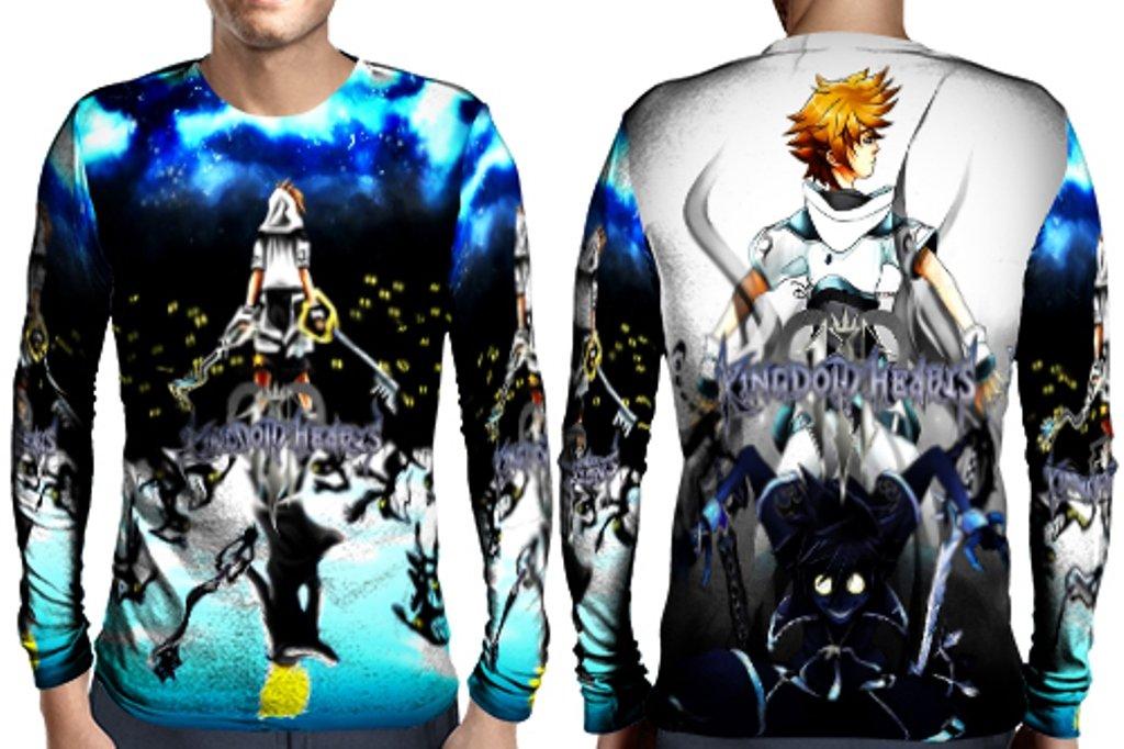 Kingdom Hearts Man Art Image Full Print Sublimation Style1