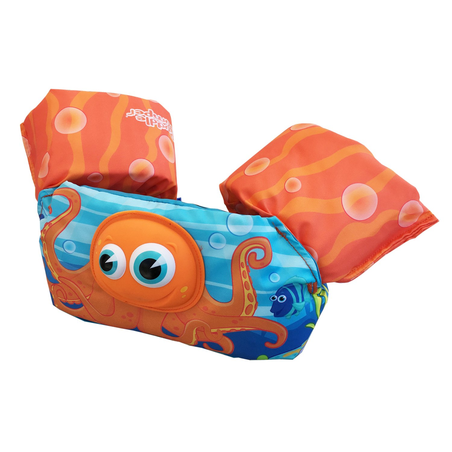 Stearns Puddle Jumper Bahamas 3D Life Jacket Orange Octopus product image