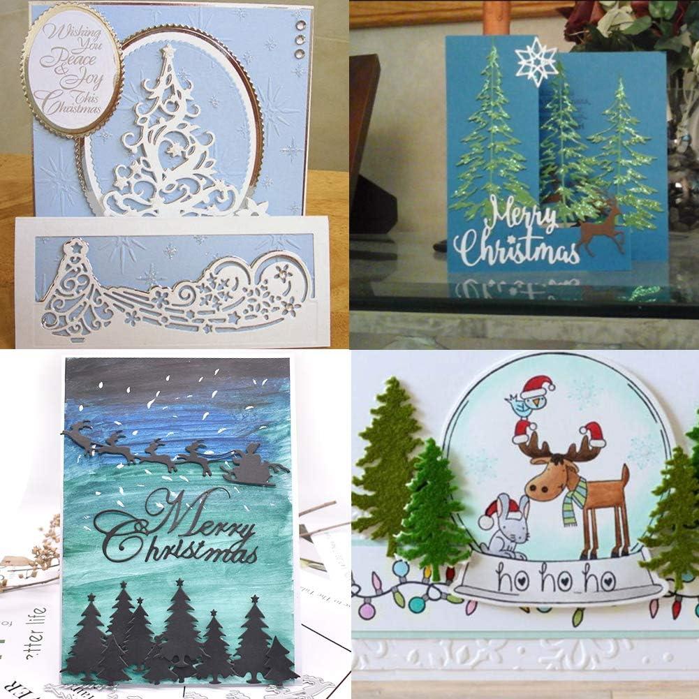 Xmas Cutter Cutting Dies Stencils Scrapbooking Cards Album Paper Embossing Craft