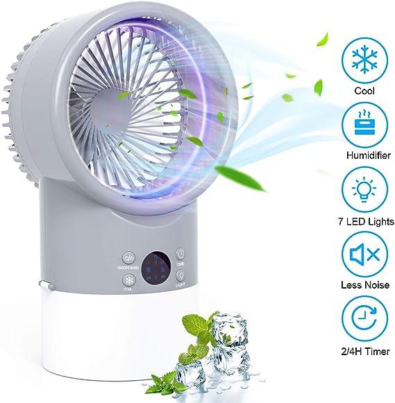 Ventilador De Niebla Rociado De Agua Enfriador De Aire A
