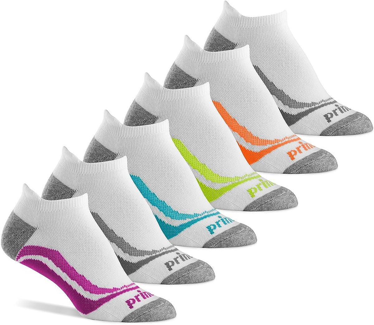 Size Large Gym Running Tennis 6 Pair Puma Men/'s Crew Socks Black Grey