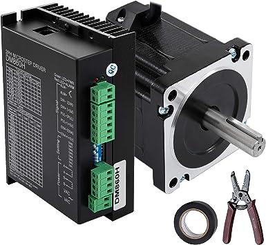 4Axis 4.5NM Nema34 Closed Loop Stepper Motor Drive Kit+Controller+Power Supply
