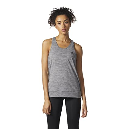 bc5c53f93085c Amazon.com  adidas Women s Performer Banded Tank Top  Sports   Outdoors