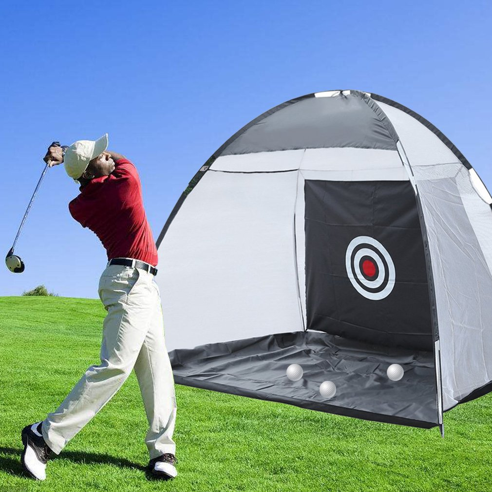 3M Golf Practice Cage Driving Hit Net Training Mat Aid Tool Golf Ball Storage Holder Foldable With Carry Bag 3M Golf Practice Cage Driving Hit Net Training Mat Aid Tool Golf Ball Holder
