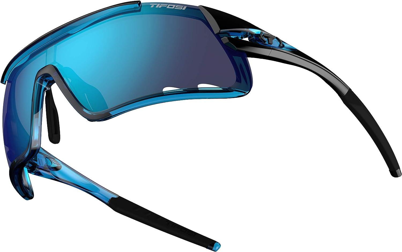 Tifosi Davos Sonnenbrille f/ür Erwachsene austauschbar Einheitsgr/ö/ße Unisex Clarion Blue Lens Crystal Blue//Clarion Blue
