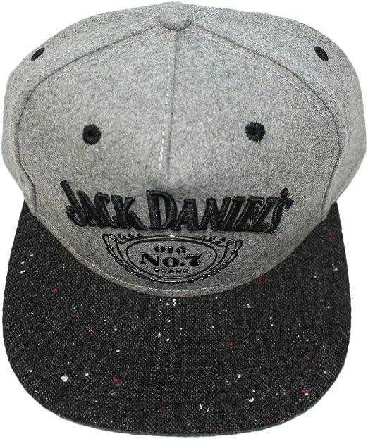 Jack Daniel s – Logo – Gorra – grijs: Amazon.es: Electrónica