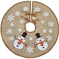Awtlife - Tela navideña para base de árbol