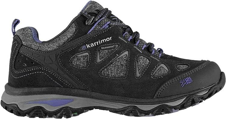 Karrimor Mujer Evelyn Zapatillas Impermeable De Senderismo Trekking Carbón 40 2/3 EU: Amazon.es: Zapatos y complementos