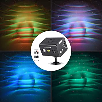 MFL Gobos RGB LED DJ Lights Galaxy Laser Party Light RG Laser Projector RGB LED & Amazon.com: MFL Gobos RGB LED DJ Lights Galaxy Laser Party Light RG ...