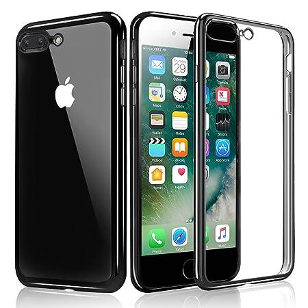 kktick 8 plus  iPhone 7 Plus Case, KKtick iPhone 8 Plus Plating Bumper [Metal ...