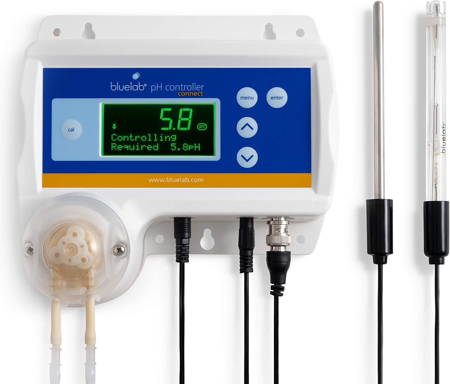 Bluelab CONTPHCON pH Controller Connect with Monitoring, Dosing and Data Logging of Solution pH Levels (Connect Stick not Included)