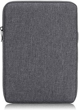 Xuanbeier Estuche de Viaje Ultrabook de Funda de Libro Electrónico de 6 Pulgadas Bolsa Portátil de Viaje Thicken para Tableta de 6 Pulgadas,Discos Duros,Cables,Teléfono,Tarjeta,Gris: Amazon.es: Electrónica