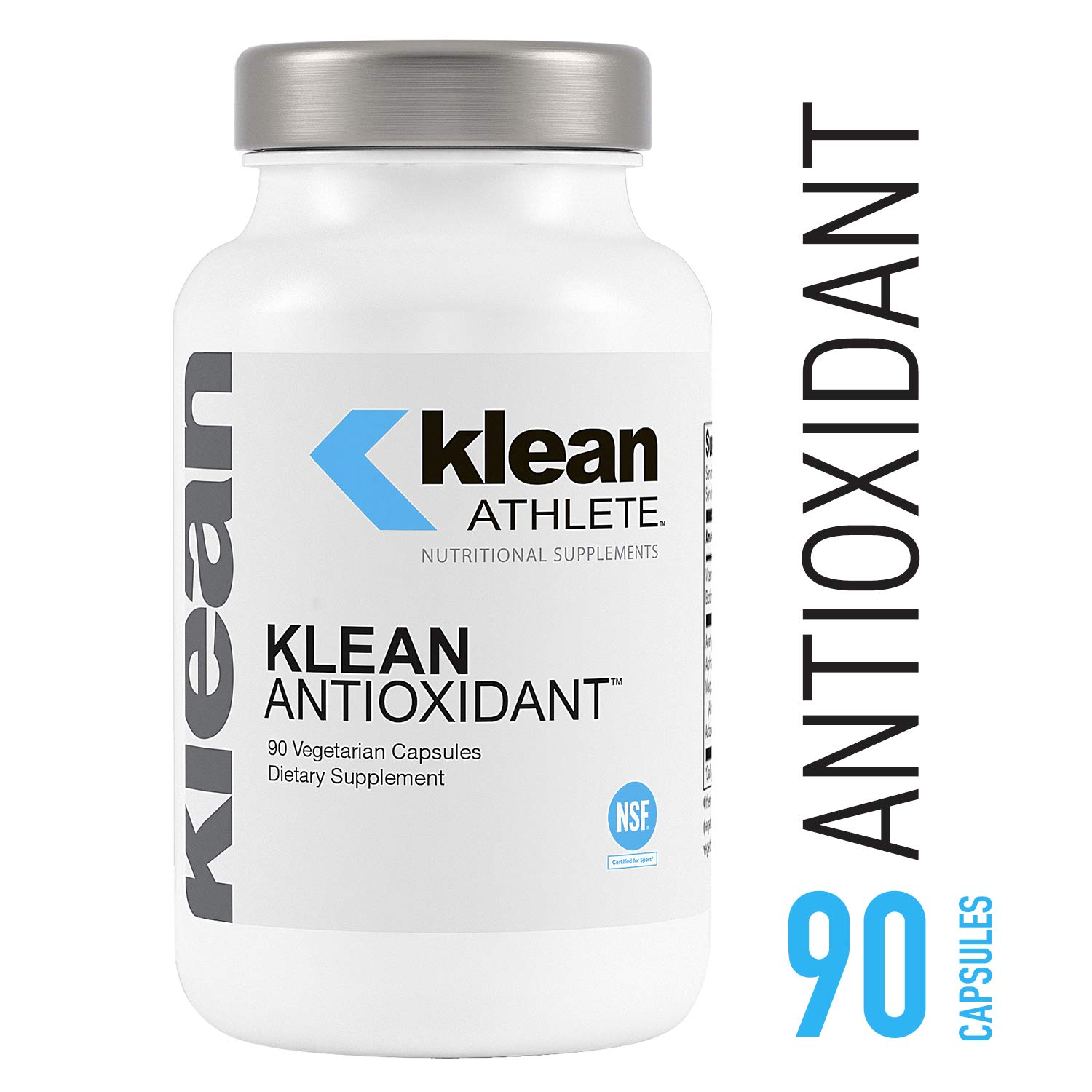 Klean Athlete - Klean Antioxidant - ALA, L-Carnitine and Antioxidants to Help Guard Against Cellular Damage from Intense Training* - NSF Certified for Sport - 90 Capsules