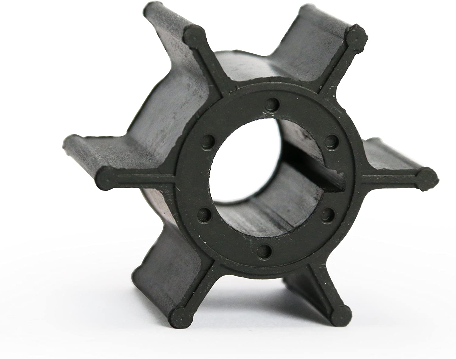 Wingogo Water Pump Impeller Replacement for 6/8/15 HP 6A/6B/8A 2 Stroke Yamaha Outboard 662-44352-01-00