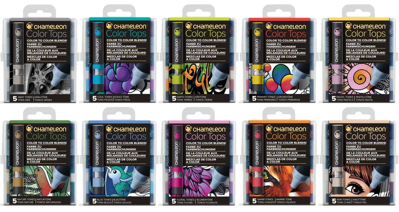 カメレオンペン カラートップ 色のブレンド 全色 50本 SET(正規品)   B07BZMDGNW