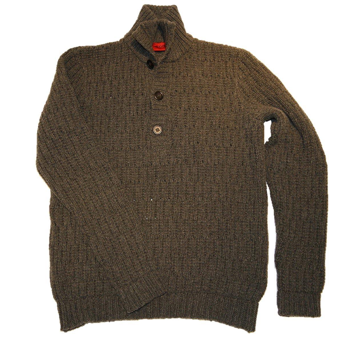 f1bbc7530182 Hugo Boss Men s Jumper - grey -  Amazon.co.uk  Clothing