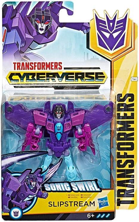6+ Hasbro Transformers Cyberverse Warrior Class Decepticon Action Figure Toy