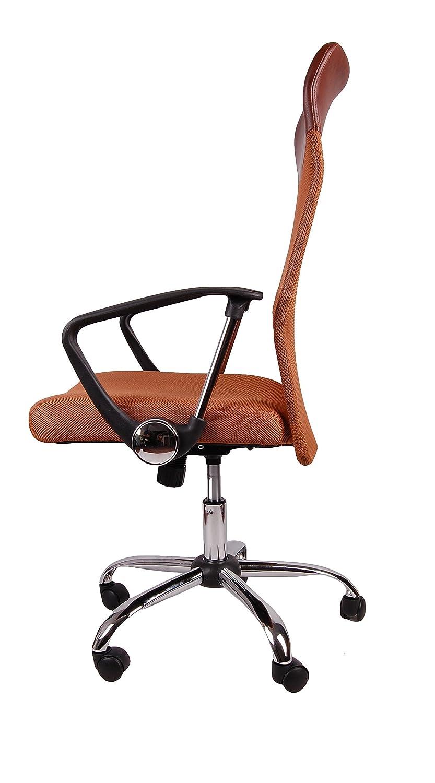 Sedie E Poltrone Ergonomiche.Sedie E Poltrone Commercio Ufficio E Industria Marrone Bsx003