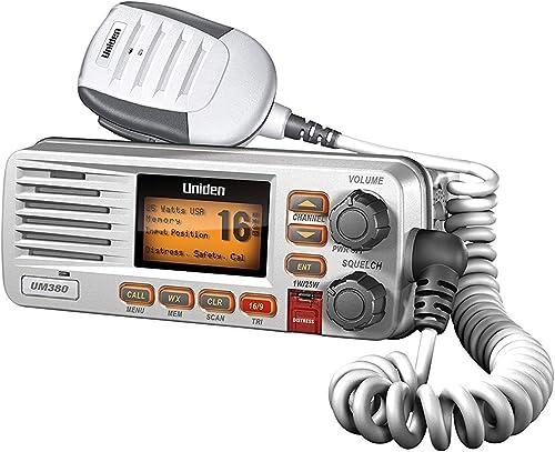 25-Wt Two-Way Waterproof Fixed Mount Marine VHF Radio (DSC) [Uniden] Picture