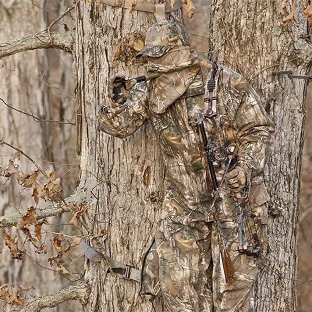 GRZP Tarnanzug gr/ö/ße : S Fr/ühling und Herbst Wasserdichter Jagdanzug Army Fan Jagd Fotografie Vogelbeobachtung Woods Tarnkleidung Wasserdichter Winddichter Schalld/ämpfer Camo Men Suit