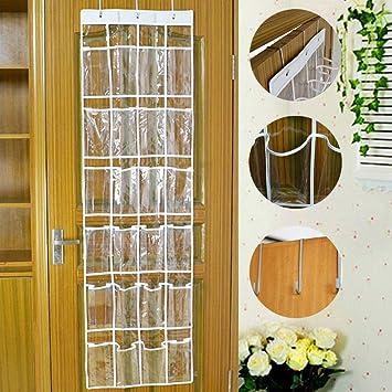 Praktische Ordnungssysteme An Der Tür Mit 24 Taschentürregal