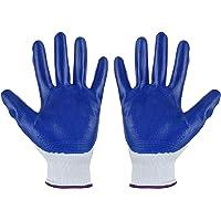 Kstyhome 6-pairs Nitrile Work Gloves Gardening Gloves Polyurethane Coated Multi-purposes Breathable