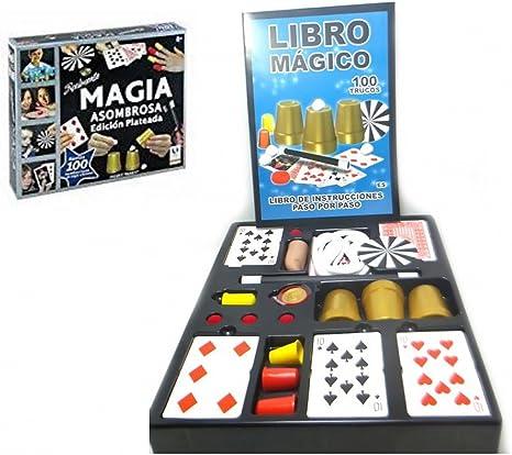 MAGIA ASOMBROSA ED.PLATA 100 TRUCOS: Amazon.es: Juguetes y juegos