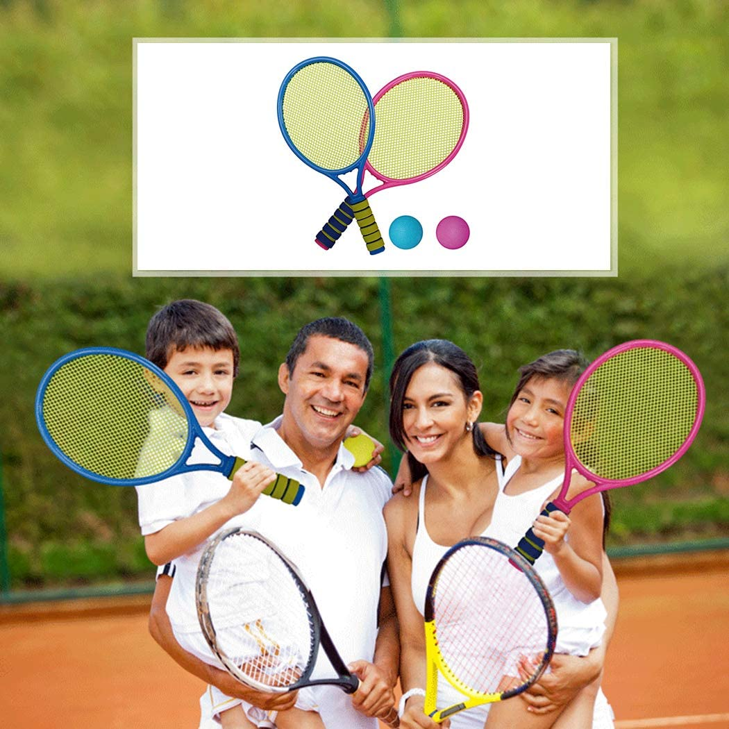 Kids Tennis Racquet Set Funny Tennis Racket with Balls for Outdoor Training