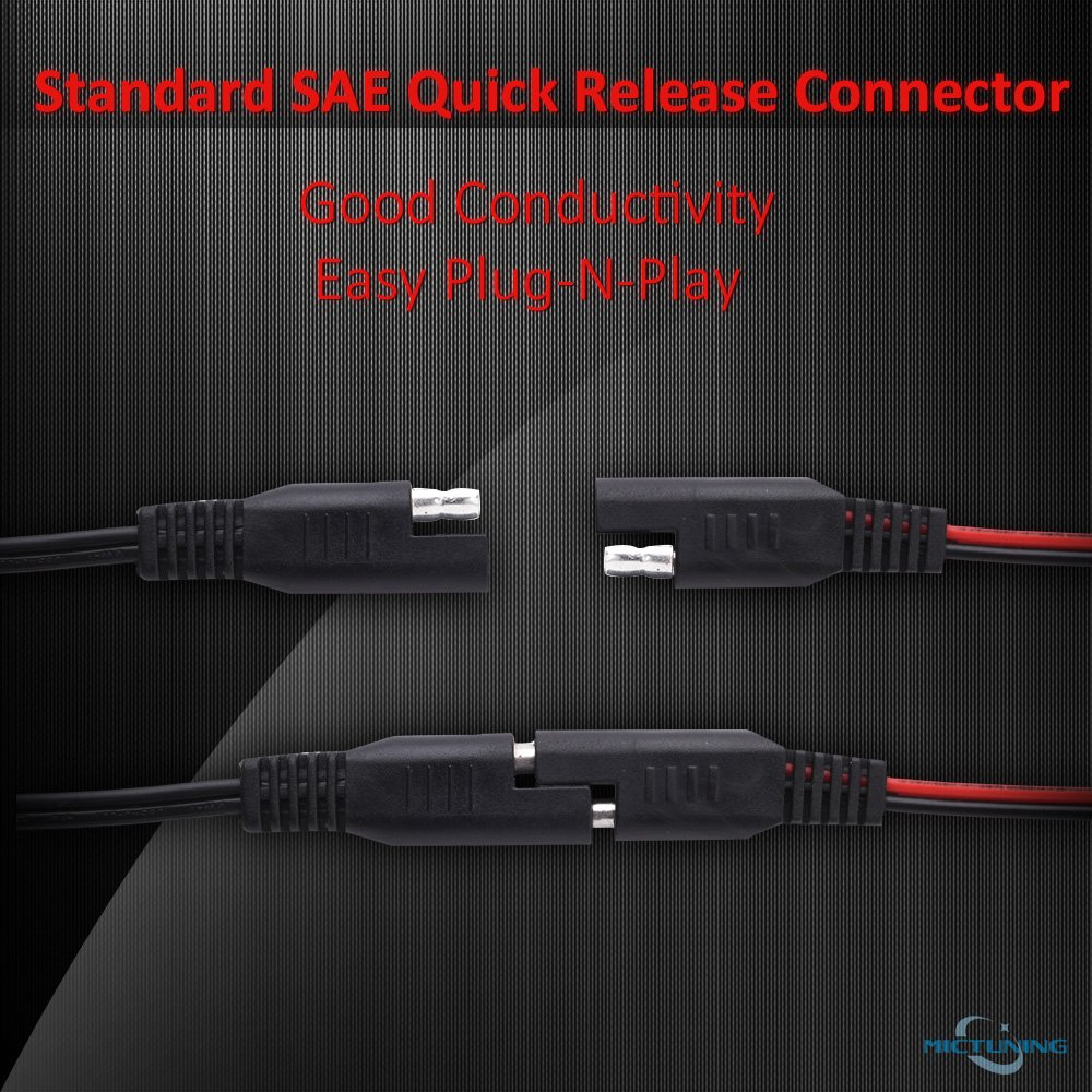 Amazon.com: MICTUNING SAE to USB Cable Adapter Waterproof USB ...