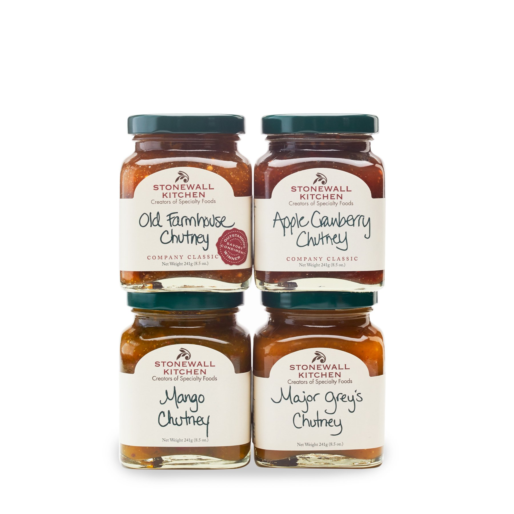 Stonewall Kitchen Our Chutney Collection (4 pc Collection)