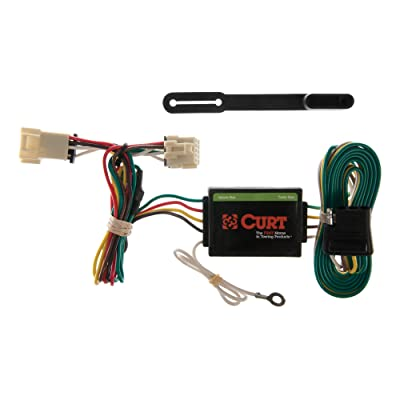 CURT 55355 Vehicle-Side Custom 4-Pin Trailer Wiring Harness for Select Chevy Venture, Pontiac Trans Sport, Oldsmobile Silhouette: Automotive