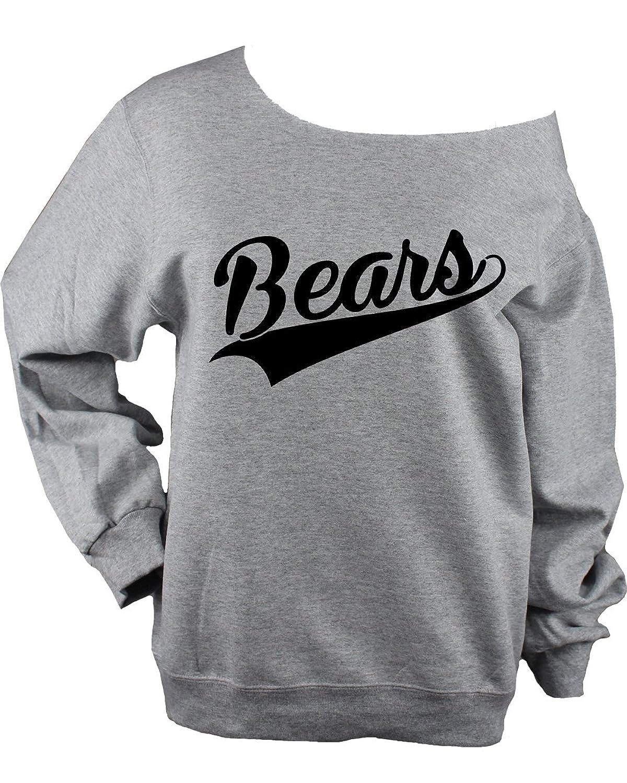 Bears Swoop UNISEX Sweatshirt - Choose Glitter or Black Vinyl Logo