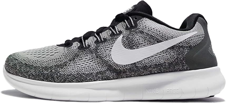 Nike Women S Wmns Free Rn 2017 Wolf Grey Off White 12 M Us Shoes