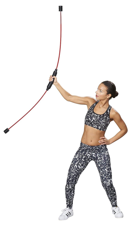 Trendy Sport ✮ Fitnessger/ät Chicote ✮ Schwingstab Trainingstab Flexi Bow Schwungstab Rot