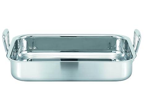 Bekaline 16302364 - Fuente para horno (acero inoxidable, 35 ...