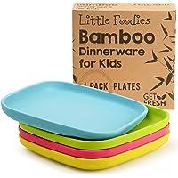 GET FRESH Platos de Bambú para Niños
