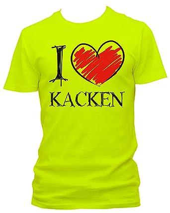 I love Kacken  FUN Herren T-Shirt