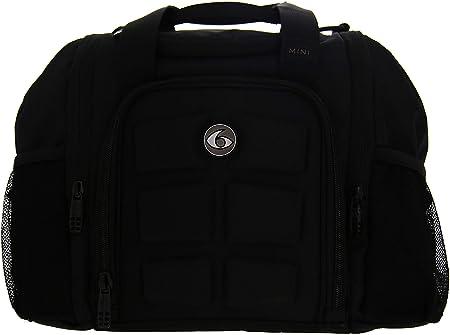 6 Pack Fitness Bag Mini Innovator Stealth Black by 6 Pack Fitness ...