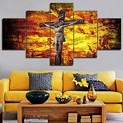 Amazon.com: Home Decorations for Living Room Jesus Christ Large ...