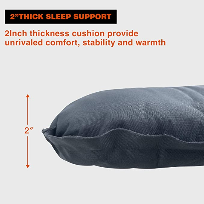 Amazon.com: KingCamp - Colchón hinchable para dormir con ...