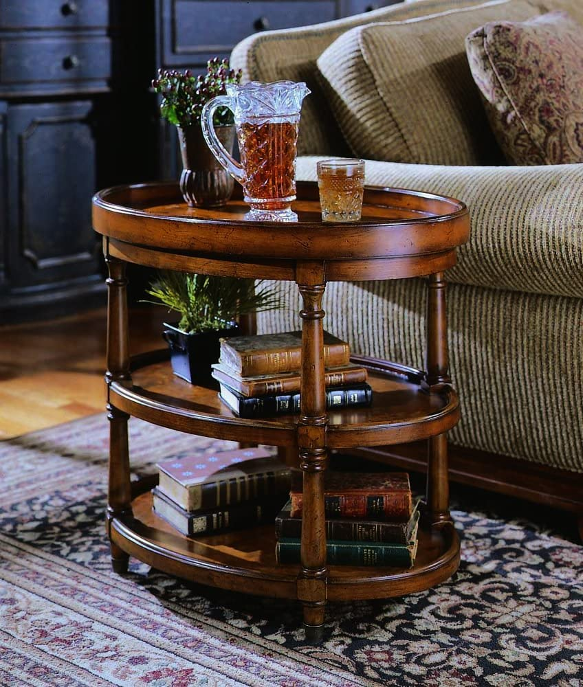 Hooker Furniture Seven Seas Two Level Oval Accent Table