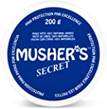 Musher's Secret Paw Wax (200g) - All Season Pet Paw Protection Against Heat, Sand & Snow - Great for Dogs, Cats, Horses & Chickens