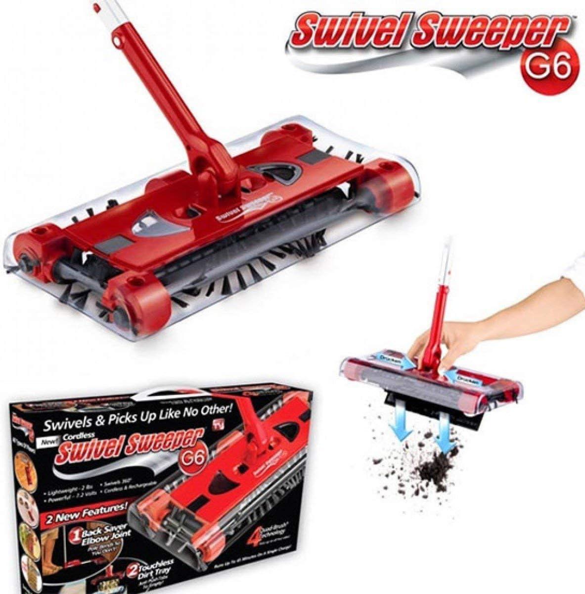 مكنسة (سويفل سويبر G6) - لاسلكية، قابلة للشحن لتنظيف الأرضيات
