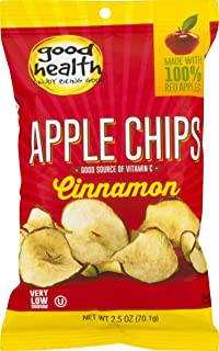 product image for Good Health Cinnamon Apple Chips 2.5 oz. Bag (8 Bags)